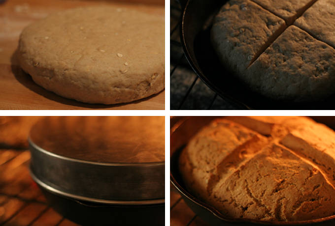 stages of baking